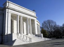 Free Memorial Amphitheater Royalty Free Stock Photos - 25046818