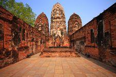 Free Past Of Sukhothai Stock Photos - 25049983