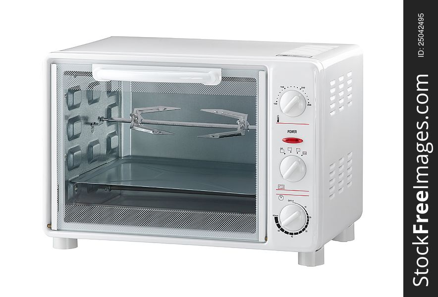 An electric oven