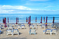 Free Beach Chair Stock Image - 25051201