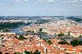 Free Prague Aerial View Royalty Free Stock Photo - 25057035
