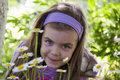 Free Girl In The Garden Royalty Free Stock Images - 25059869