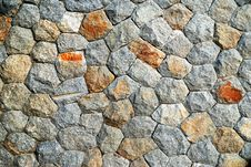Rock Wall Texture Stock Images