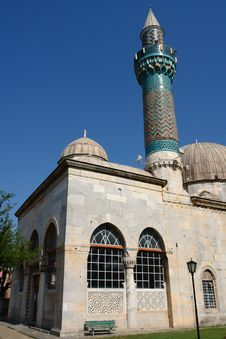 Free Green Mosque Iznik Stock Photo - 25057140