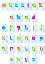 Free Puzzles Alphabet Stock Photo - 25066210