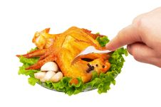 Free Chicken Wings Stock Photos - 25060233