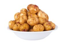 Free Potatoes Royalty Free Stock Photo - 25060295