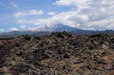 Free Volcano Etna. Stock Images - 25061444