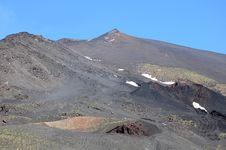 Free Volcano Etna. Stock Image - 25062151