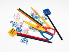 Free Drawning Tools Stock Photos - 25064953