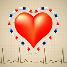Free Logo For Cardiologist Stock Photo - 25065660