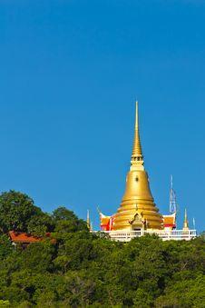 Golden Pagoda On Koh Samui Stock Photography