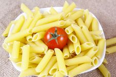 Free Pasta With Tomato Royalty Free Stock Photo - 25066145