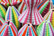 Paper Folding Hats Stock Images