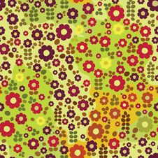 Free Kid Floral Pattern Stock Photo - 25066850