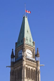 Free Tower Of Parliament Ottawa Royalty Free Stock Image - 25068056