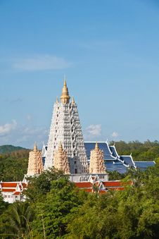 Free Bodh Gaya Style Pagoda Royalty Free Stock Image - 25072666