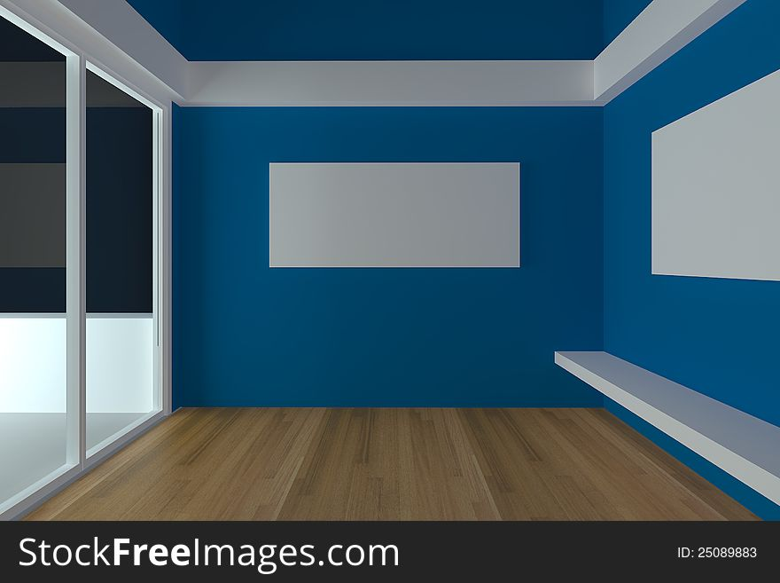 Empty Room Interior Design For Living Room Free Stock