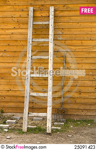 Free Ladder And Forks Stock Photos - 25091423