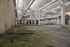 Free Abandoned Hall Royalty Free Stock Photo - 25090895