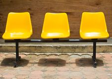 Free Yellow Chair Royalty Free Stock Photos - 25094058