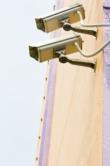Free Video Camera Security System Stock Photography - 25094112