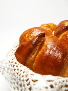 Free Homemade Croissants Royalty Free Stock Image - 25095246