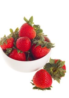 Free Fresh Strawberry Royalty Free Stock Photos - 25095448