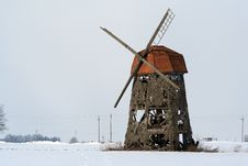 Old Flour Mill Royalty Free Stock Image