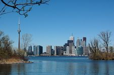 Free Skyline Of Spring Toronto Stock Images - 2510564