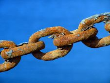 Free Rusty Metal Chain Stock Images - 2511214