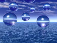 Free Water Balls Stock Image - 2511431
