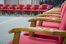 Free Red Seats Royalty Free Stock Photography - 2511907