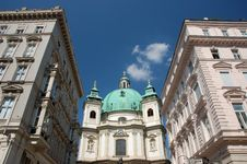 Free St. Peter S Church In Vienna Royalty Free Stock Photography - 2512037