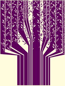 Free Abstract Tree Royalty Free Stock Image - 2512446