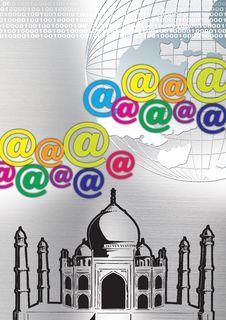 Free Taj Mahal Royalty Free Stock Photos - 2512918
