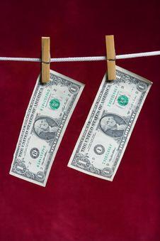 Free Two American Dollar Royalty Free Stock Photos - 2512968