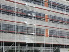 Free Construction Site Scaffolding Royalty Free Stock Image - 2513106