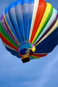 Free Tattered Hot Air Balloon Royalty Free Stock Photos - 2514018
