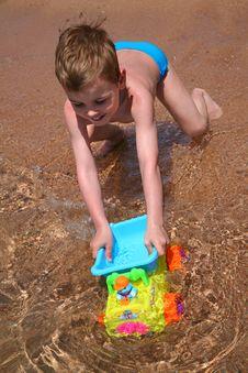 Free Playing Boy Stock Photo - 2514100
