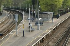 Free Deserted Platform 2 Stock Images - 2514184