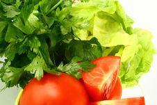 Free Salat Tomato Stock Photography - 2515082