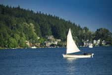 Free Afternoon Sail Stock Photography - 2515122