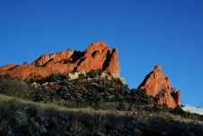 Free Garden Of The Gods Stock Photography - 2515892