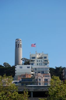 Free Coit Tower Stock Image - 2515901
