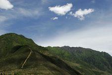 Free A Mountain Village Stock Image - 2515971