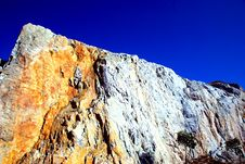 Free Mountain On The Blue Sky Royalty Free Stock Images - 2516409
