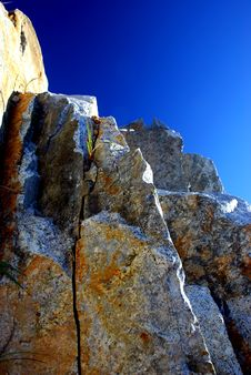 Free Mountain On The Blue Sky Stock Photography - 2516692
