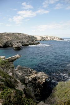 Free Rottnest Island - WA -Sea Rock Stock Photo - 2516960