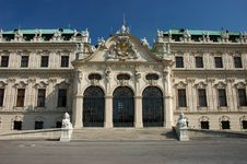 Free Belvedere Palace In Vienna Royalty Free Stock Photos - 2517548